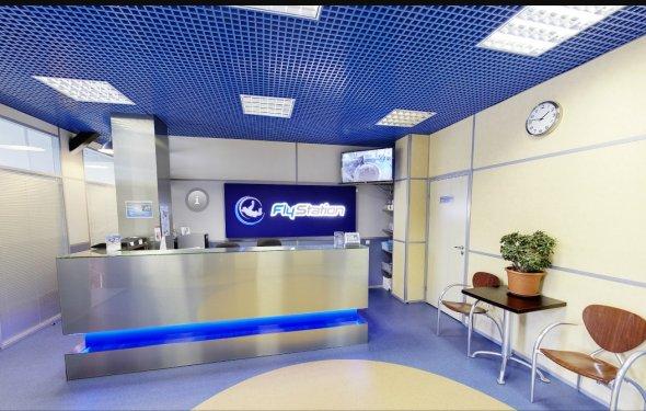 Аэротруба FlyStation в Санкт