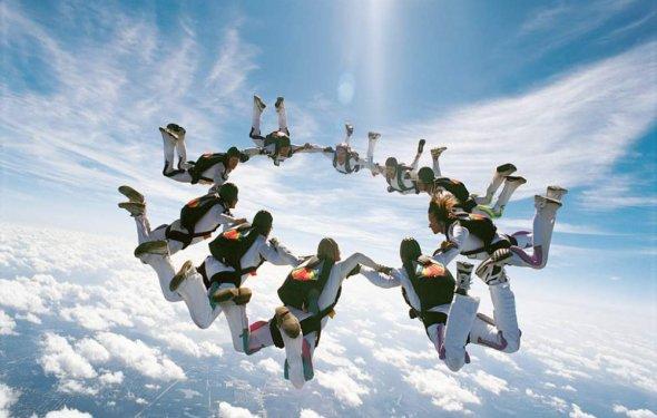 Прыжки с парашютом в Крыму