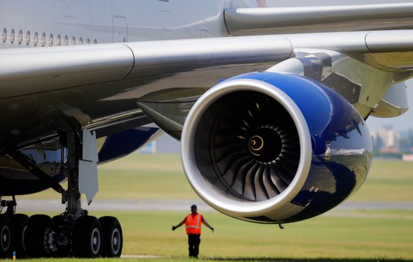 Турбина самолёта