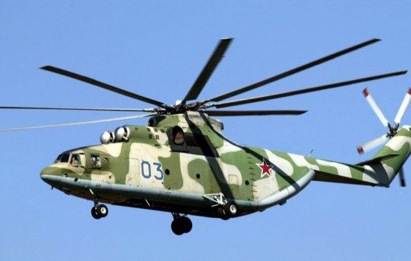 Ми-26: самый большой вертолет