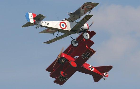 Самолёты времён Первой мировой