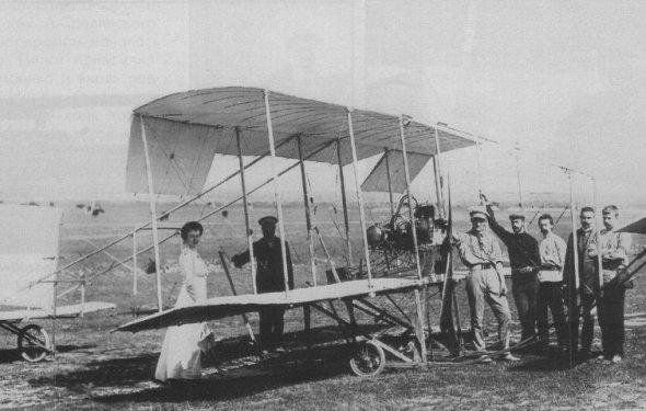 Первый самолет в мире