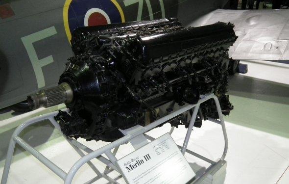 Поршневой двигатель самолета