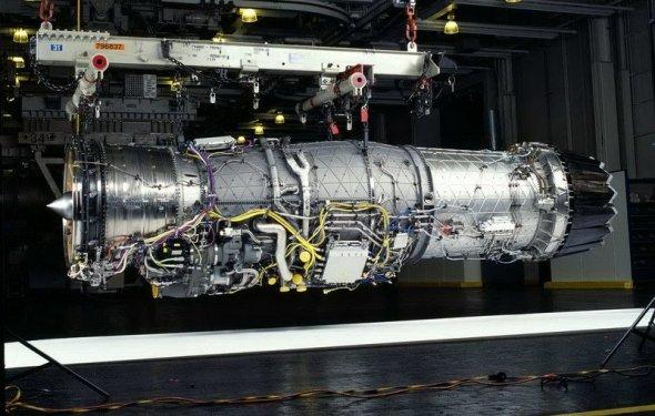 F135-PW-100 турбореактивный