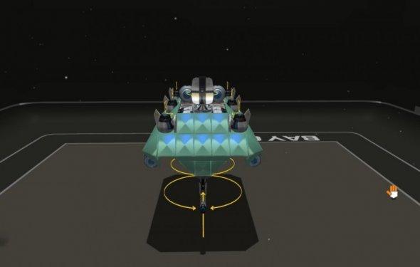 Robocraft дирижабль вид