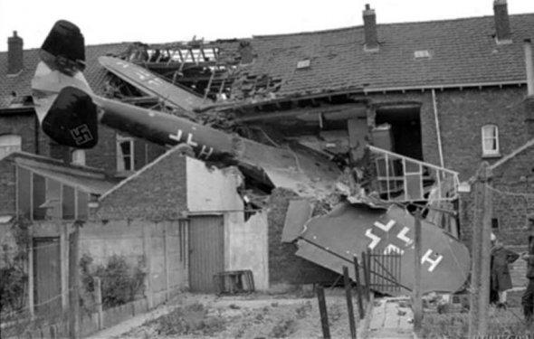 Сбитые немецкие самолеты