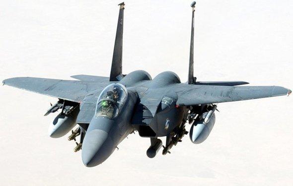 военный самолет McDonnell